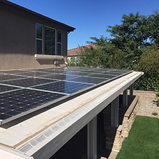 Solar Ready Patio