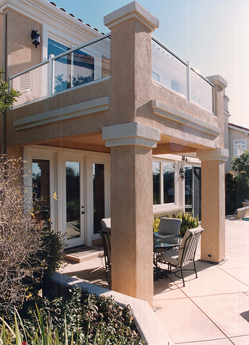 All Pro Remodeling Stucco Deck